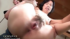 Concupiscent slut getting pleasured on camera