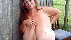 Naughty mature cutie get undressed for you